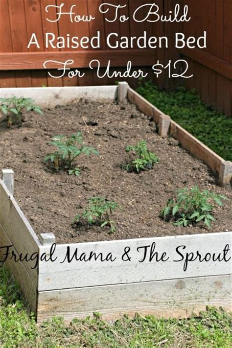 how to make a raised garden bed cheap 1000 ideas about cheap raised garden beds on pinterest