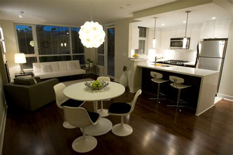 Simply Home Decorating by Quot Green Quot Condo Modern Dining Room Vancouver By