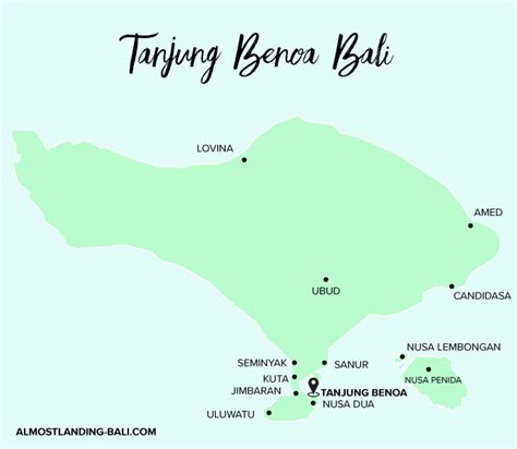 tanjung benoa travel guide  landing bali