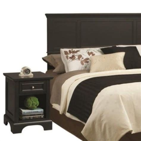 King Headboard Black by King Headboard With Stand In Black 5531 6011