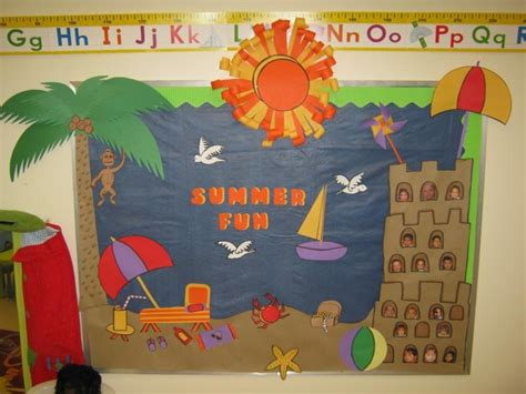 cute themes for school summer bulletin board idea decoraci 243 n sal 243 n de clases
