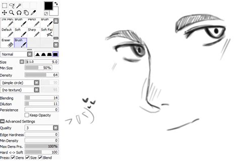 paint tool sai cr paint tool sai brushes
