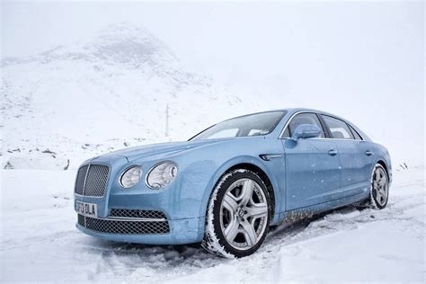 Photo Of The Day Sky Blue Bentley Continental Flying Spur