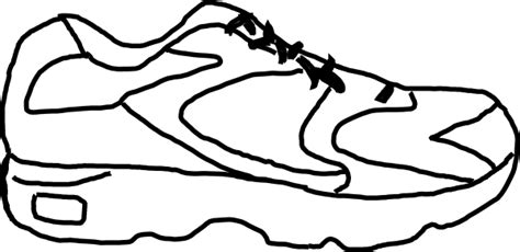 running shoe with sensor clip art at clker com vector