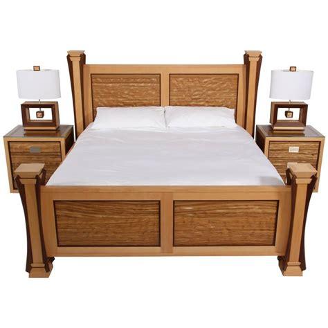 wave bedroom set custom ambient wave bedroom set in zebrawood 2015 for