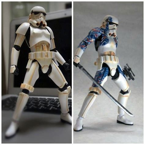 cool wars stuff badass custom stormtrooper figure is covered in japanese