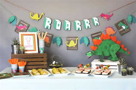 Home Decoration Stores How To Throw A Dino Mite Dinosaur Party Evite