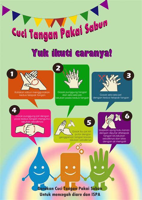 Sabun Cuci Tangan infografis cuci tangan pakai sabun