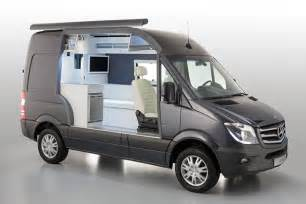 Mercedes Travel Trailer Mercedes Classes Up Cer Market With Sprinter