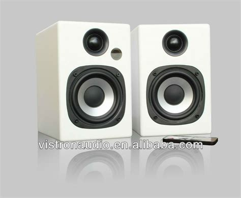 1 4 quot bookshelf speakers with protable wireless bluetooth 4