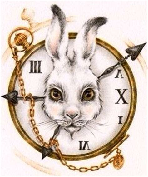 printable white rabbit clock alice in wonderland s white rabbit and clock character