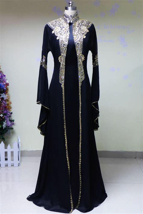 01 Abaya Maxi arabic kaftan dresses dubai foto 2017