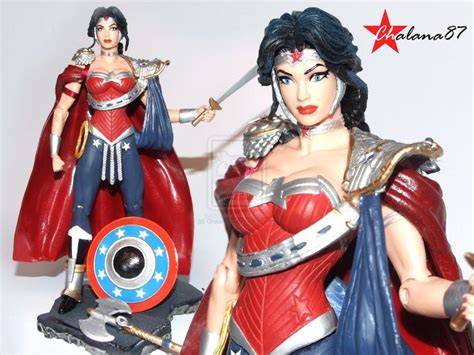 wonder woman new 52 wonder woman new 52 armored custom action figure by