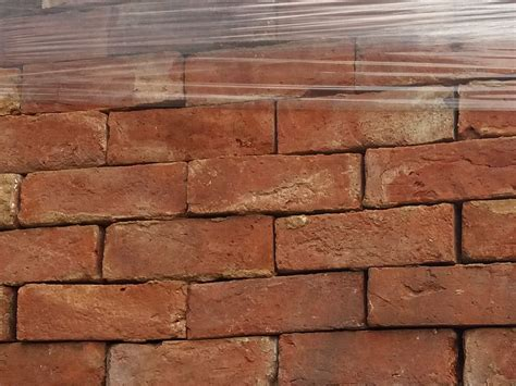 Handmade Leicester - reclaimed leicester handmade bricks