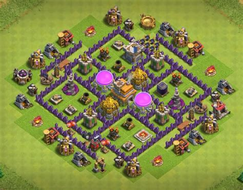 coc layout hybrid 12 best coc town hall th7 hybrid bases 2017 3 air defenses