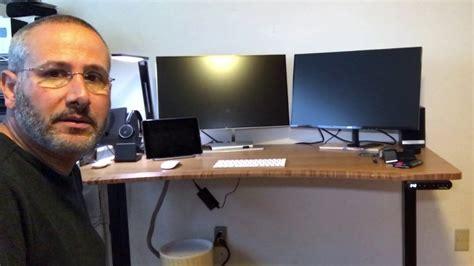uplift desk vs evodesk human solution uplift sit stand desk youtube
