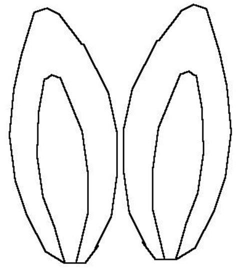 bunny ears headband template bunny ears template for headband easter bunny ears