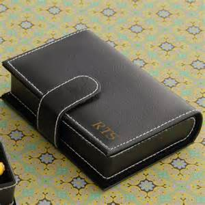 3 Initial Monogram Necklace Kendall Leather Travel Jewelry Case This Personalized