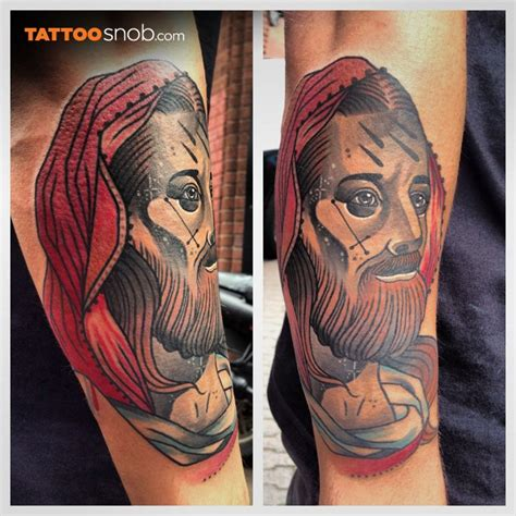 traditional jesus tattoo great jesus pictures tattooimages biz