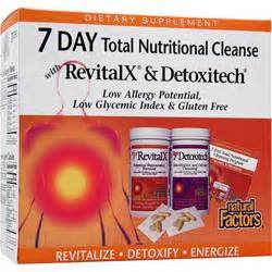 7 Day Total Detox by Factors 7 Day Total Nutritional Cleanse On Sale At