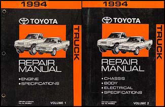 what is the best auto repair manual 1994 toyota previa security system 1994 toyota truck repair shop manual set original