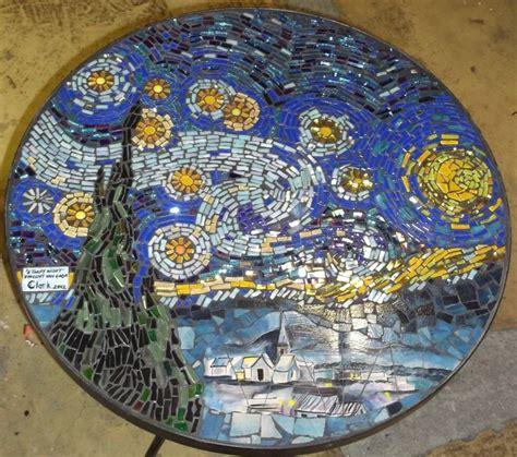 mosaic 4 students book 0194666476 starry starry night interpretation onto a table top sterrennacht