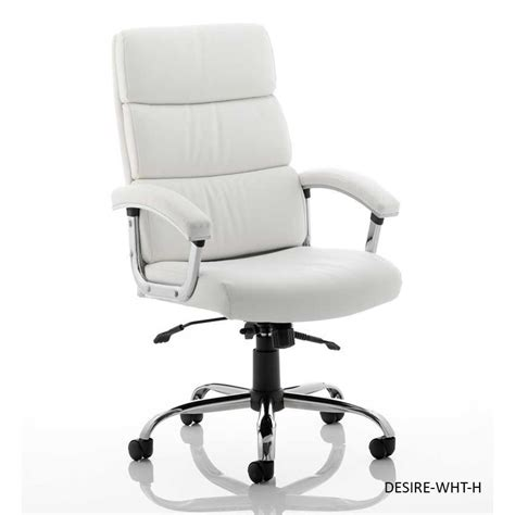white leather office chair desire high back leather office chair black or white