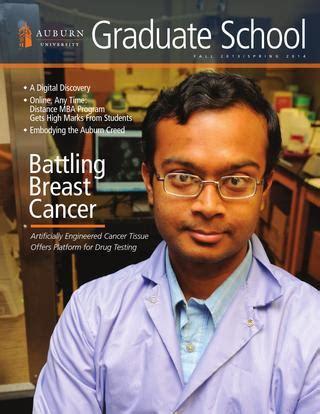 Auburn Mba Requirements by 2013 14 Auburn Graduate School Magazine By