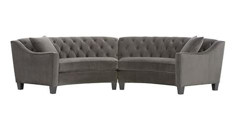 Riemann Tufted Sectional by Riemann Curved Tufted Sectional Hermitage 303