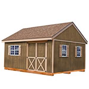 12 X 15 Storage Shed Shop Best Barns Common 12 Ft X 16 Ft Interior