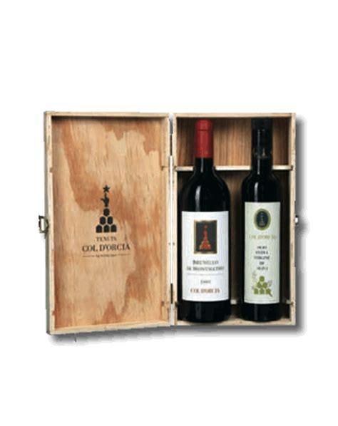 dove trovare cassette di legno confezione regalo vino e olio toscano