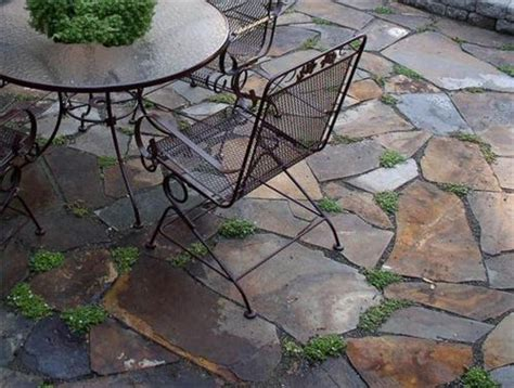 backyard flagstone flagstone patio pictures and ideas