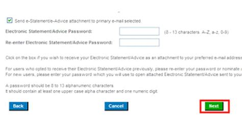 reset citibank online password electronic statements