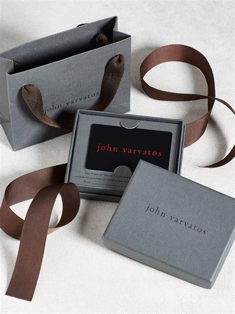 jewelry - John Varvatos Gift Card