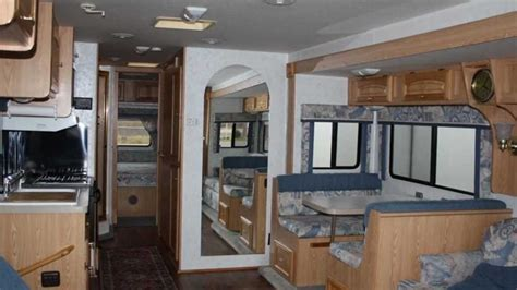 Fleetwood Bounder Floor Plans used 1999 georgie boy pursuit class a gas motorhome for
