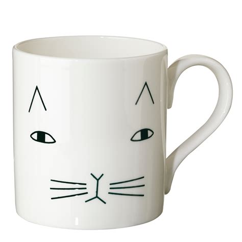 Mog Mug   100% Bone China   Donna Wilson   Made in UK