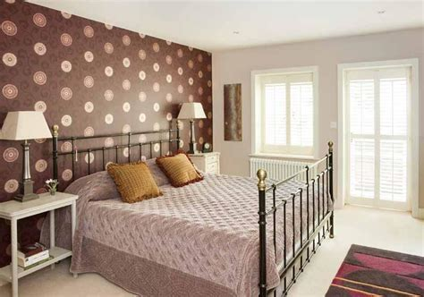 Braune Tapete Schlafzimmer by Feature Wall Wallpaper Design Ideas Photos Inspiration