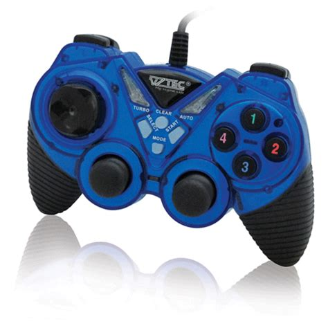 Vztec Usb Vibration Controller Pad Joystick Model Vz Ga6005 vztec usb2 0 dual shock vibration pad joystick model vz ga6006 blue jakartanotebook