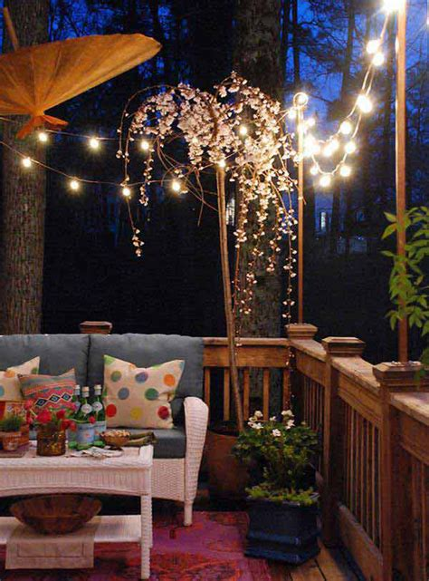 Outdoor Deck String Lighting 20 Amazing String Lights For Your Outdoor Patio Home Design And Interior