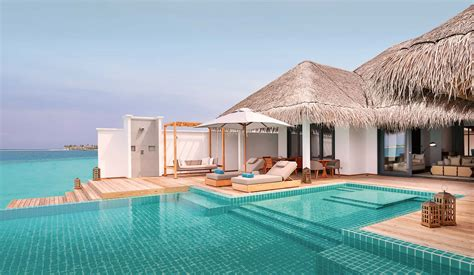 2 bedroom pool villa two bedroom ocean lagoon pool villa finolhu maldives