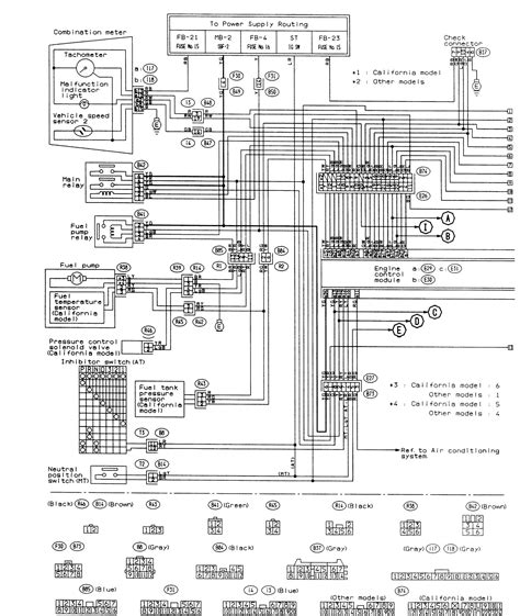 subaru h6 wiring diagram wiring diagram manual