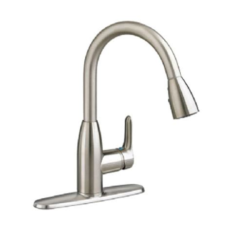 stainless steel kitchen faucet with pull down spray glacier bay market single handle pull down sprayer kitchen