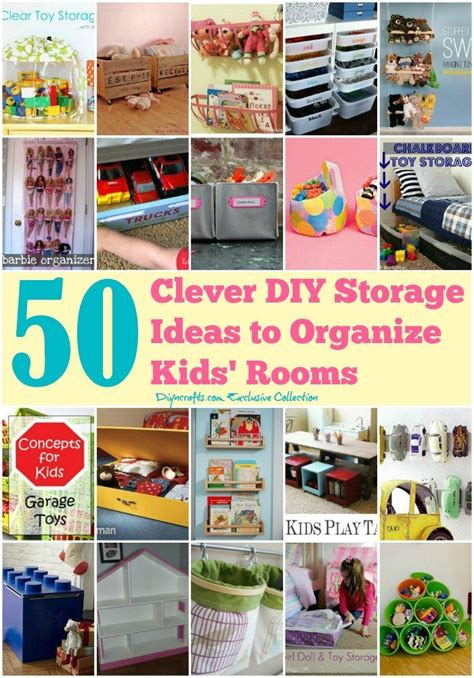 50 clever diy storage ideas to organize rooms