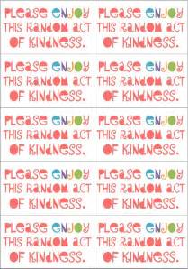 Rak Flyer 27 best rack random acts of kindness images on