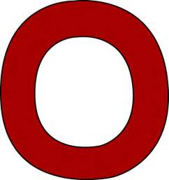 O Gallery For Gt The Letter O In Red