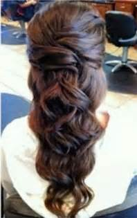 For long hair down curly prom hair styles short hairstyle 2013