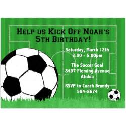 Soccer Invitation Template 40th birthday ideas birthday invitation templates soccer