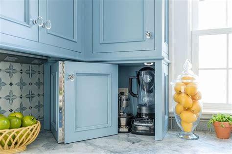 Accordion Kitchen Cabinet Doors Blue Quatrefoil Floor Tiles Cottage Bathroom Benjamin Dusty Cornflower