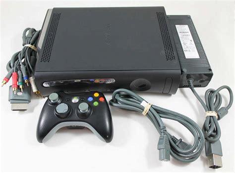 xbox 360 elite 120gb console xbox 360 elite system console used