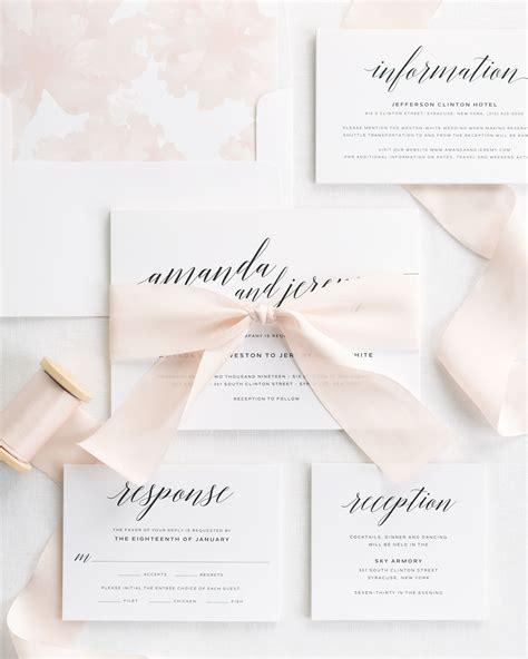 Wedding Invitations With Ribbon by Daring Ribbon Wedding Invitations Ribbon Wedding